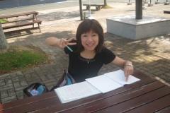 浜松大学キャンパスにて